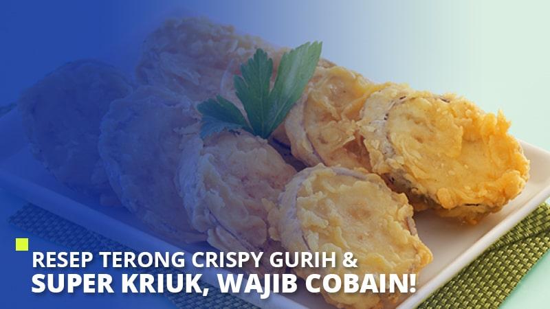 Resep Terong Crispy Gurih & Super Kriuk, Wajib Cobain!