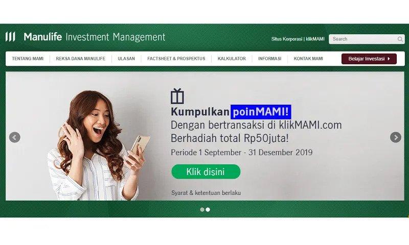 5. PT Manulife Aset Manajemen Indonesia (MAMI)