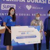 Aplikasi Super Salurkan Donasi Rp 1,6 M Melalui Kementerian Sosial RI