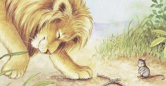 11. Seekor Singa dan Tikus