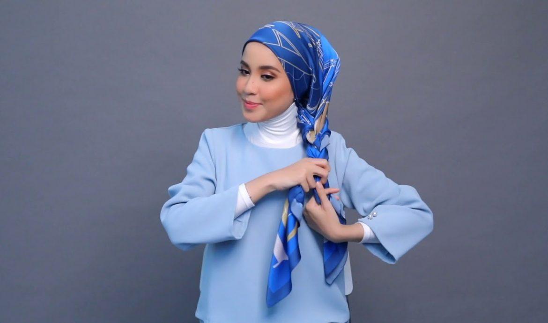 11. Hijab Gaya Kepang