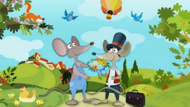 12. Tikus Desa dan Tikus Kota