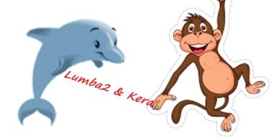 15. Monyet dan Lumba-Lumba