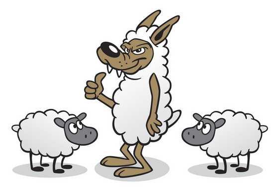 2. Serigala Berbulu Domba