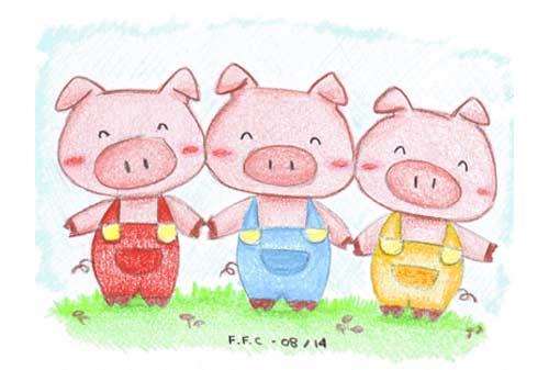 3. Tiga Babi Kecil