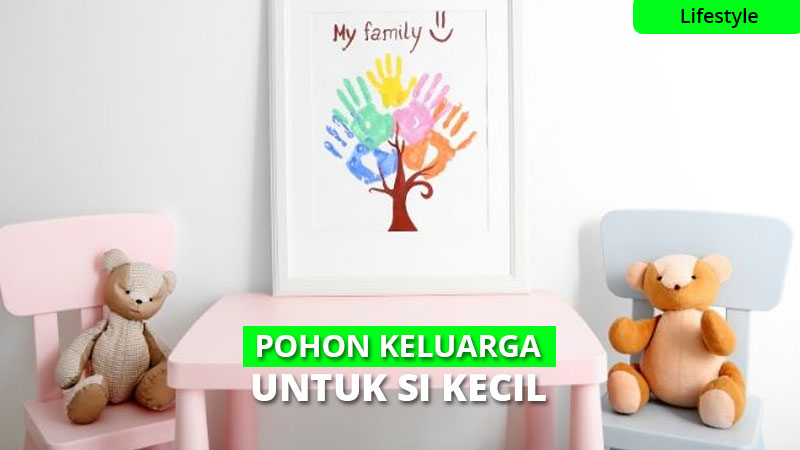 Pohon Keluarga, Cara membuat dan Contoh Family Tree Yang Lucu