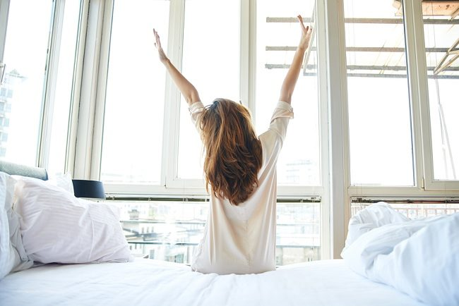 4. Tidur yang Cukup