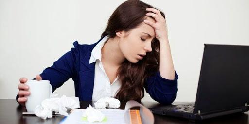 6. Menghindari Stress
