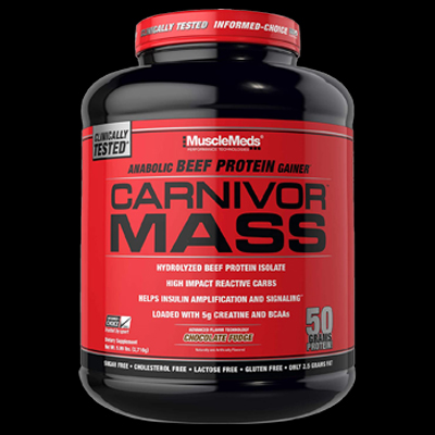 11. MuscleMeds Carnivor Mass