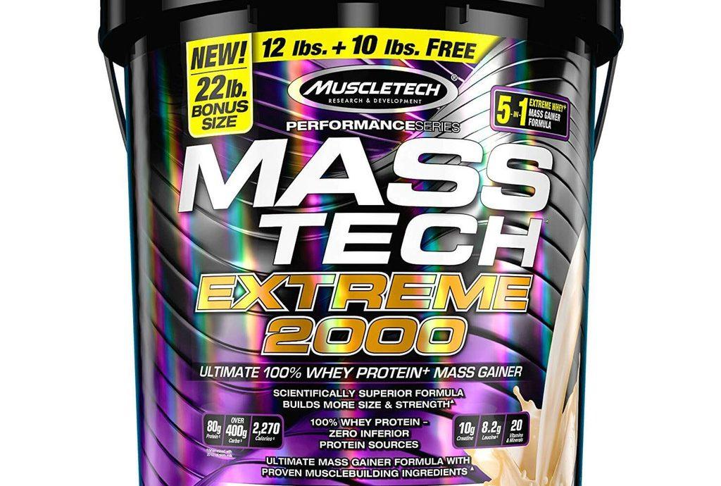 15. Muscletech Mass Tech