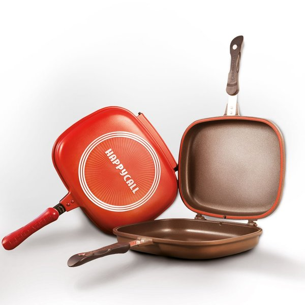 3. Happy Call Double Pan