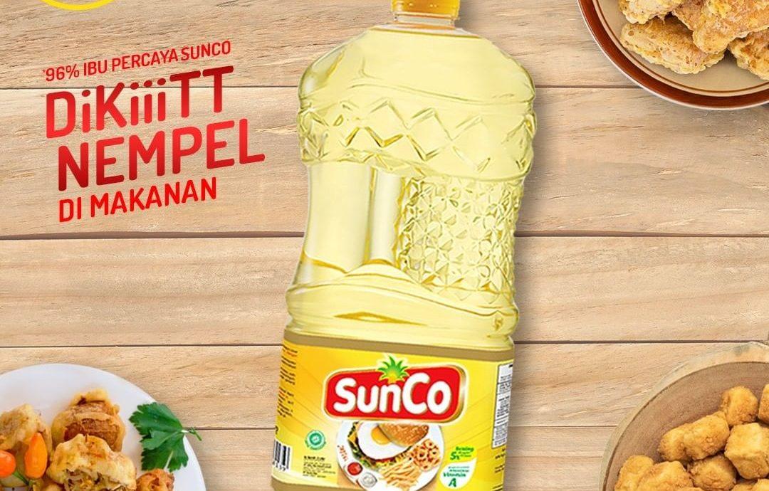 7. SunCo Minyak Goreng