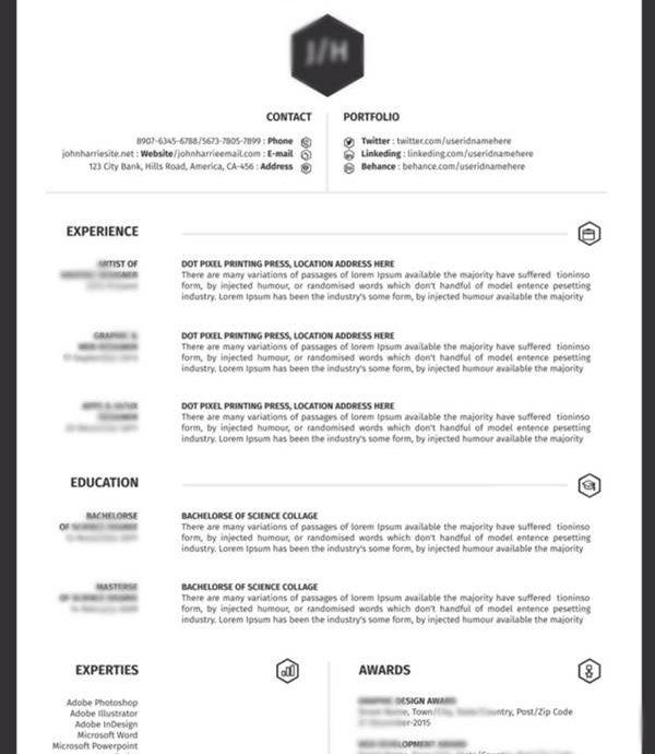 2. CV dalam Bahasa Inggris