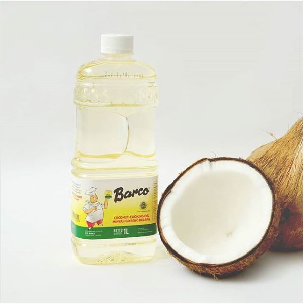 1. Barco Coconut Cooking Oil