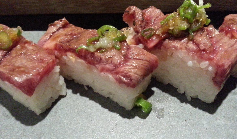 Oshizushi sushi